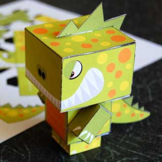 Smash Monster Papercraft