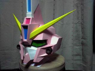 SD GAT X303 Aegis Gundam Papercraft Bust