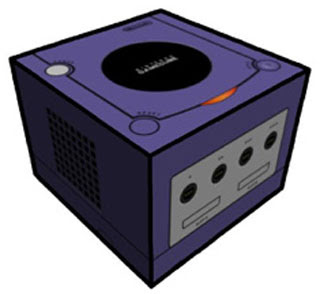 Cubee GameCube Papercraft Indigo