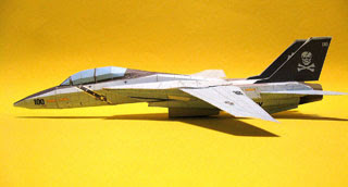 F14 Papercraft Jolly Rogers
