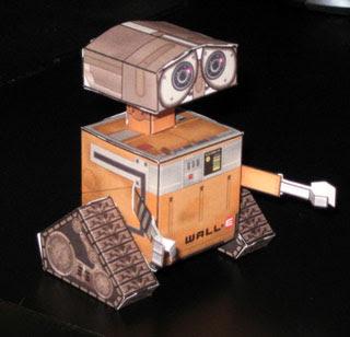Cubee WALL-E Papercraft