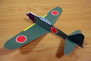 A6m Zero Paper Airplane