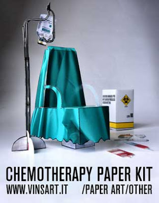 Chemotheraphy Papercraft