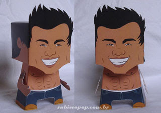 Taylor Lautner Papercraft