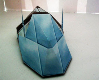 Hover Bot Papercraft