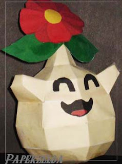 Young Maku Tree Papercraft