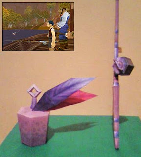 World of Warcraft Fishing Papercraft