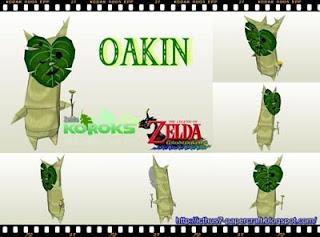 Korok Oakin Papercraft