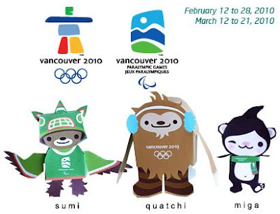 2010 Winter Olympics Mascot Papercraft