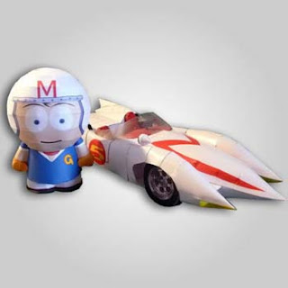 Speed Racer Papercraft 2
