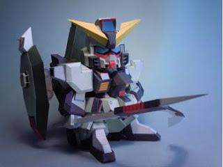 Forbidden Gundam Papercraft 2