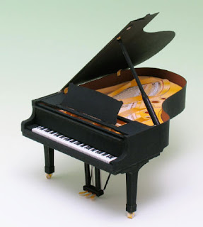 Grand Piano Papercraft