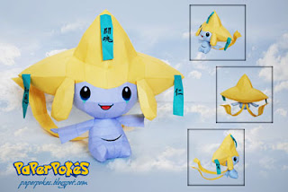 Pokemon Jirachi Papercraft