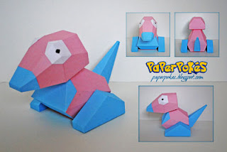 Pokemon Porygon Papercraft