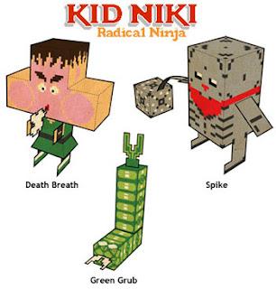 Kid Niki Papercraft