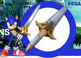 Sonic Sword Papercraft