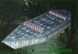 Swamp Boat Papercraft