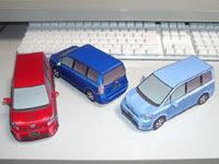Toyota Voxy Papercraft