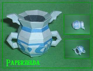Gust Jar Papercraft