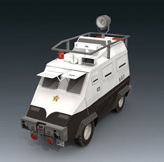 Command Car Type 97 Papercraft