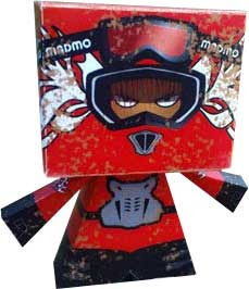 Motocross Papercraft