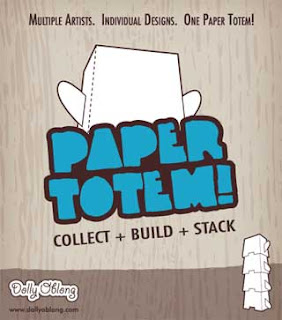 Papercraft Totem Dolly Oblong