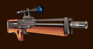 Walther WA 2000 Sniper Rifle Papercraft