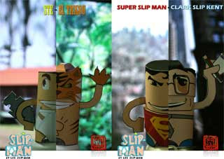 Superman El Tigrou Papercraft