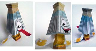 Karakasa Papercraft