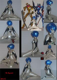 Rei Ayanami Papercraft