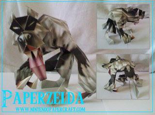 Wolfos Papercraft 2