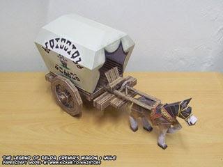 Cremia's Wagon Papercraft