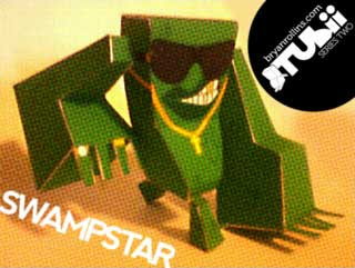 Swampstar Papercraft Toy
