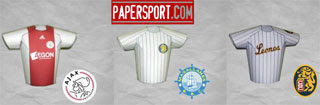 Baseball Jersey Papercrafts