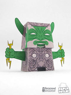 Lord of Thunder Paper Toy