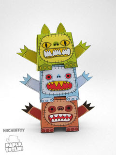 Paper Totem Machintoy