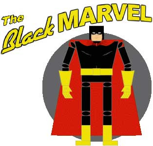 Black Marvel Papercraft