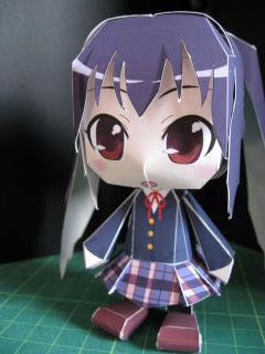 K-On! Azusa Nakano Papercraft