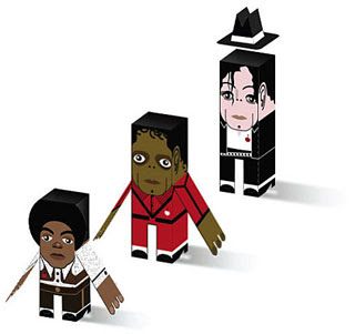 Michael Jackson Papercrafts