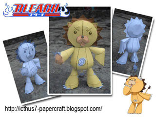 Bleach Kon Papercraft