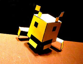 Space Invaders Papercraft