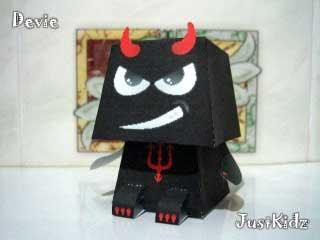 Devil Paper Toy