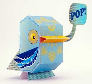 Nanibird Pop Paper Toy