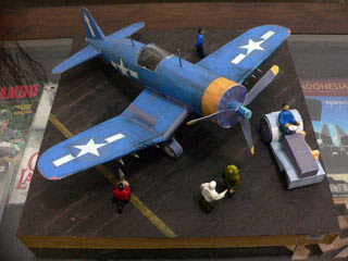F4U Corsair Papercraft