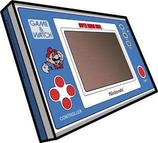 Super Mario Bros. Game & Watch Papercraft