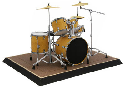 Drum Set Papercraft