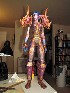 Nighte Elf Hunter Papercraft