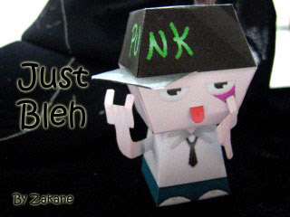 JustBleh Paper Toy