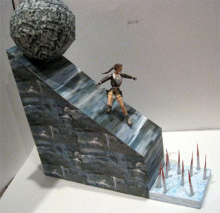 Boulder Dash Papercraft