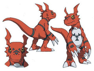 Guilmon Papercraft